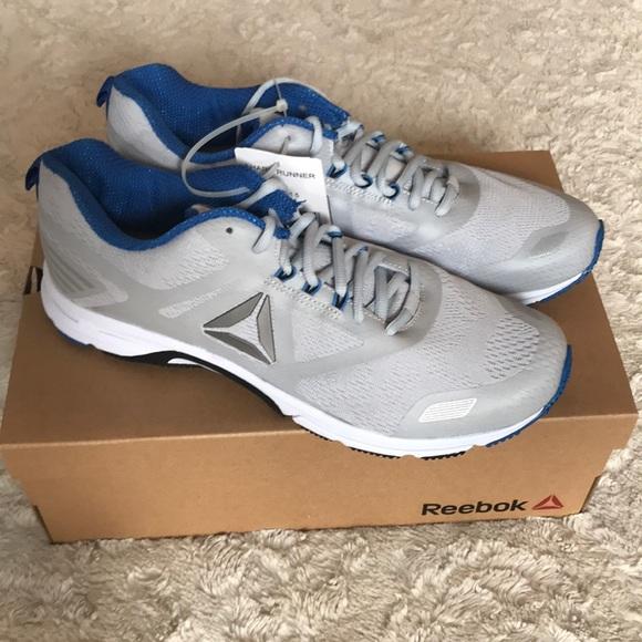 Reebok Canton MA Runner Men s Shoes Sz 11.5 Grey. NWT 88f37f2a4